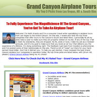 grand canyon airplane tours