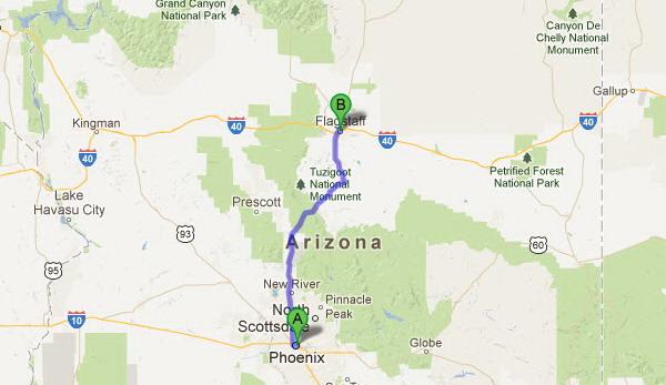 Phoenix To Flagstaff >> Grand Canyon Tours Tusayan Sedona Phoenix To Williams And